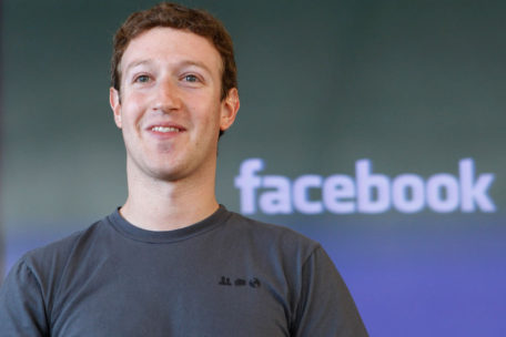 Mark Zuckerberg, fundador de Facebook.
