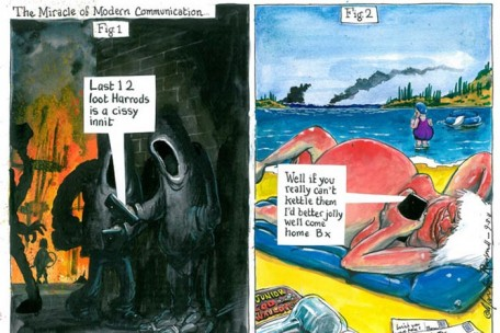 Martin Rowson para The Guardian