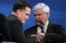 Romney vs Gingrich: <br>¿De qué pie cojean estos republicanos?