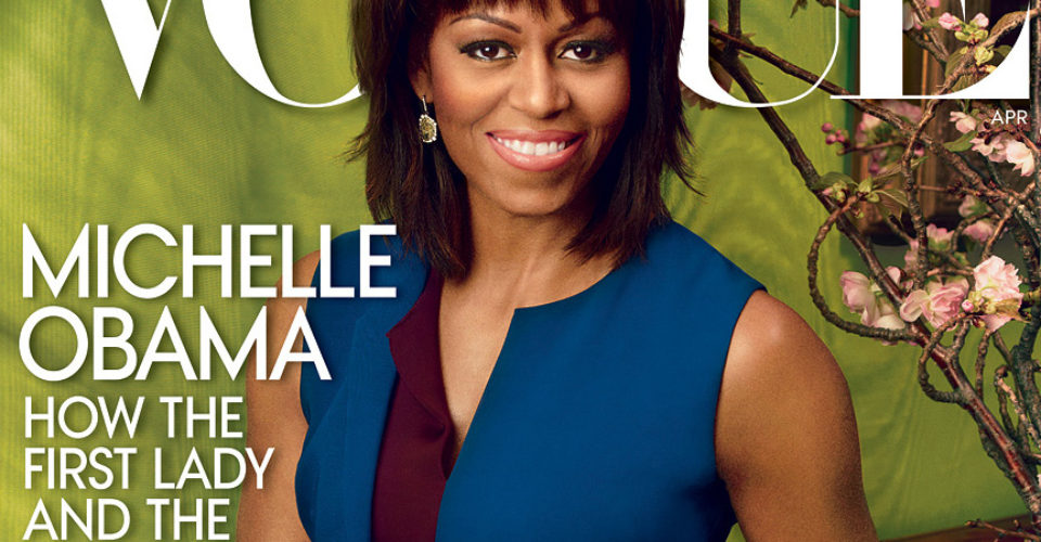 Michelle Obama regresa a la portada de <i>Vogue</i>