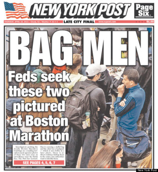 Portada del New York Post