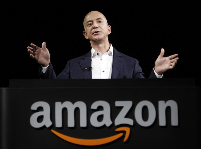 Jeff Bezos, fundador de Amazon. //Foto: AP