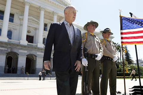 Jerry Brown, gobernador de California. AP.