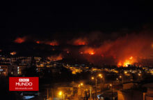 "Chile: un ""incendio perfecto"" consume a Valparaíso"