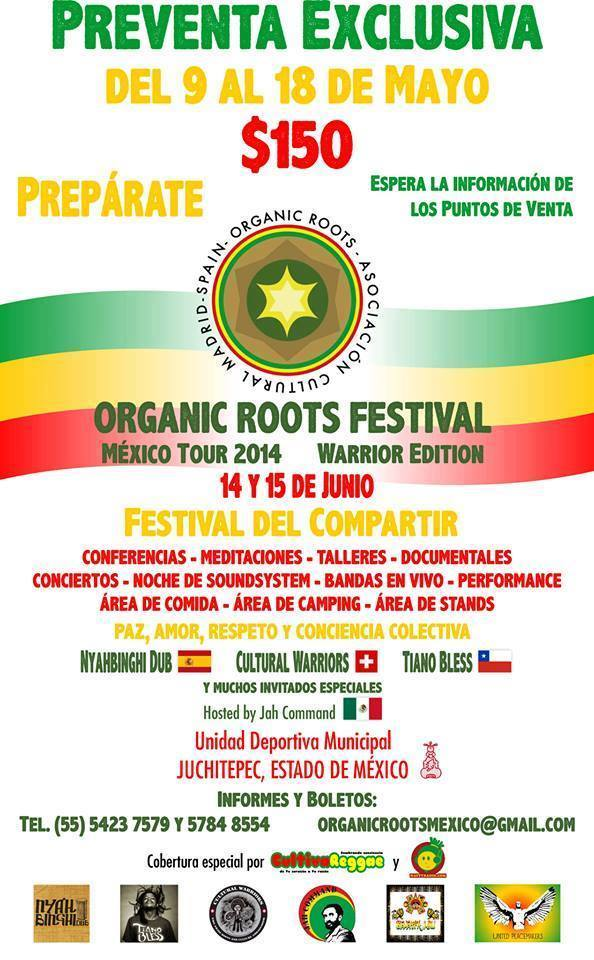 ORGANIC ROOTS FESTIVAL JUCHITEPEC 2014