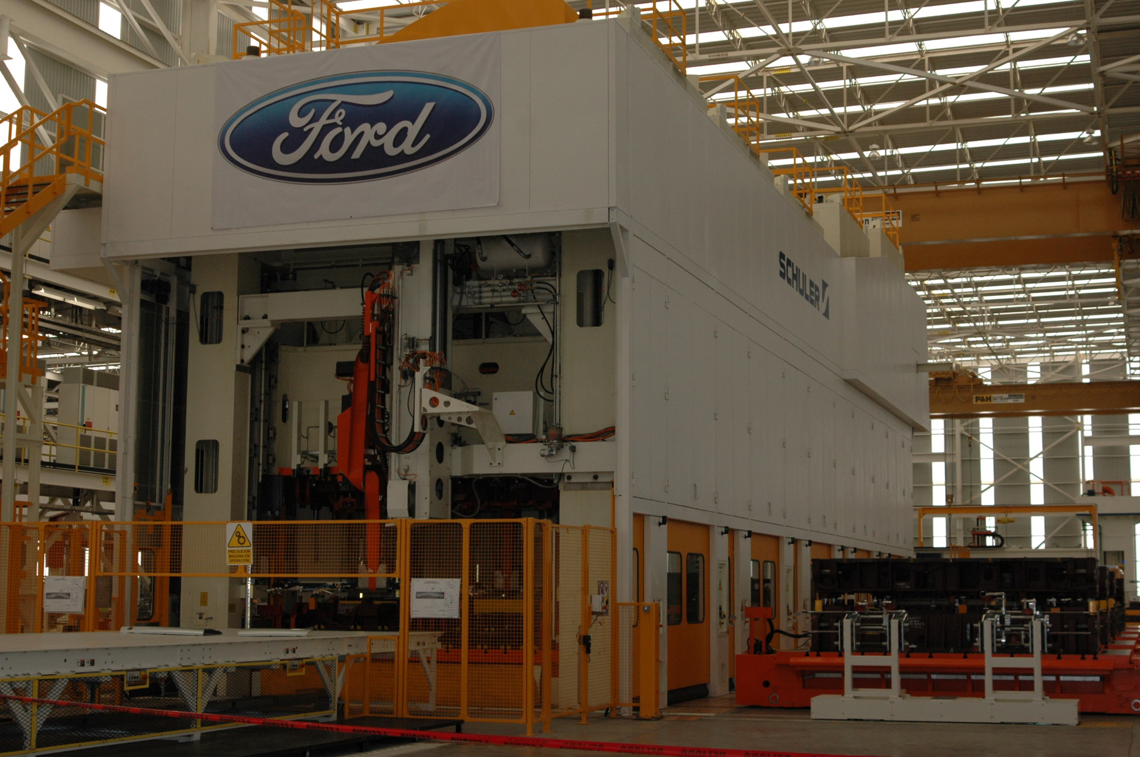Ford plant in Mexico Cuartoscuro
