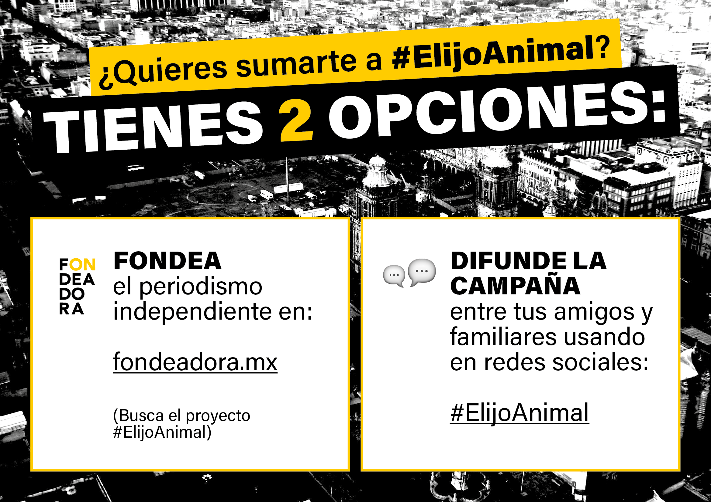 Elijo Animal sumate