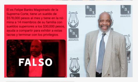Felipe Banks en realidad es James Avery, actor de la serie 'El Principe del Rap'
