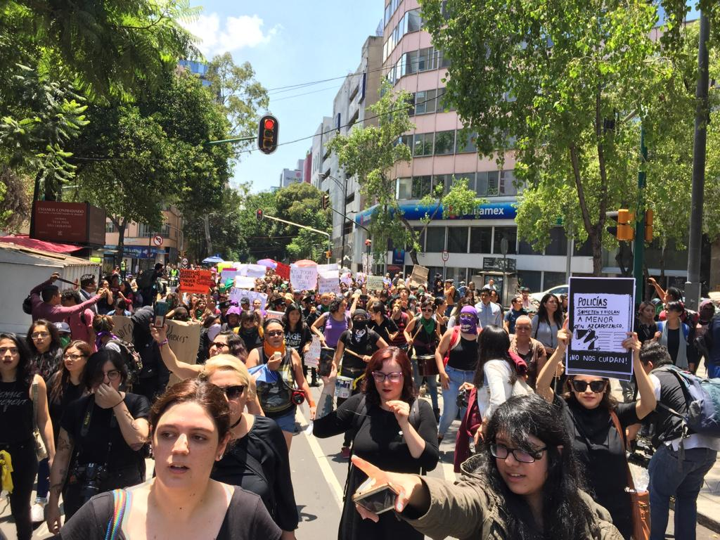 marcha mujeres